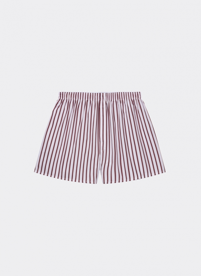 Boxer Short Double Stripe Dobby