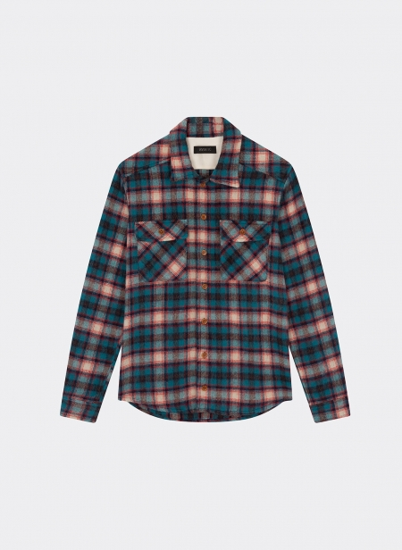 Overshirt Laine Alpaga Check