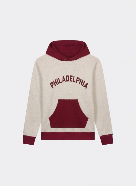 Sweat Capuche 10oz 2tone