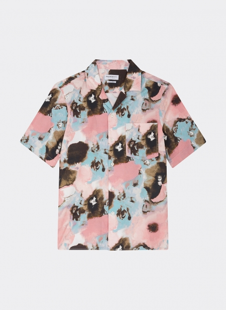 Rangi Shirt Popeline Flower Psycho