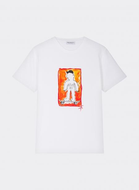 T-shirt Skater Mascotte