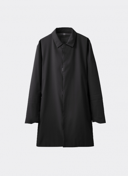Shell Hard Jacket Bal Collar Coat