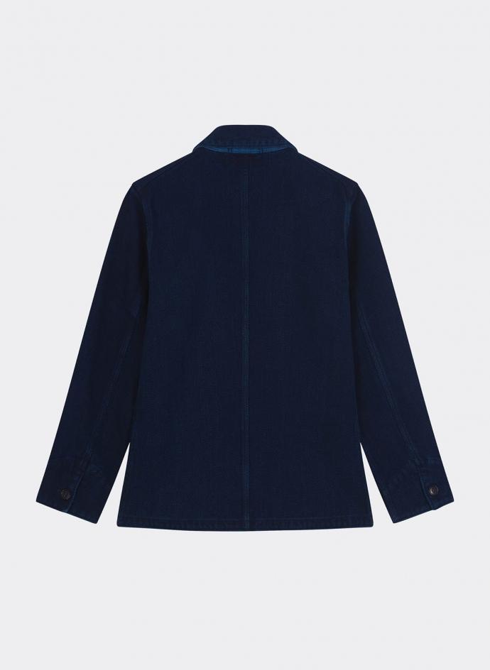 Pure Indigo Sachiko Coverall Used Washed Jacket