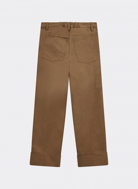 Lavatore Trousers Cotton Twill Washed