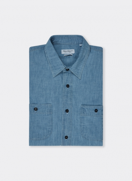 Kansas Shirt Japan Chambray Sw