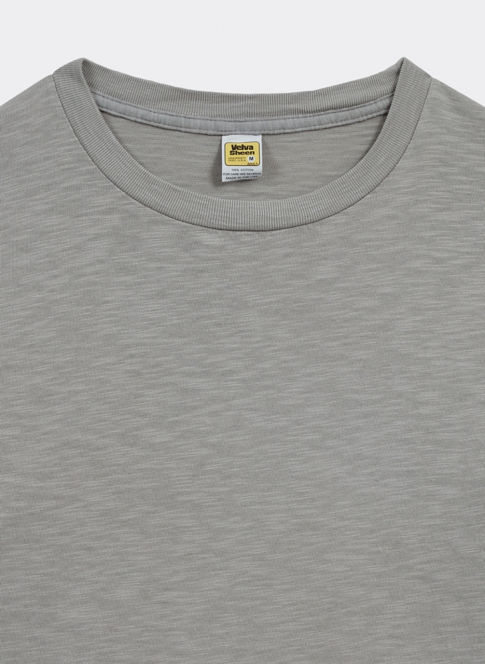 Rolled Regular Tee Velva Sheen