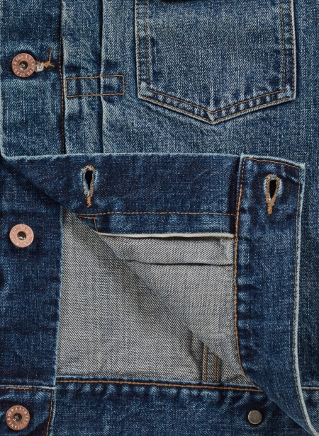 Aviatic Veste en Denim Kozo