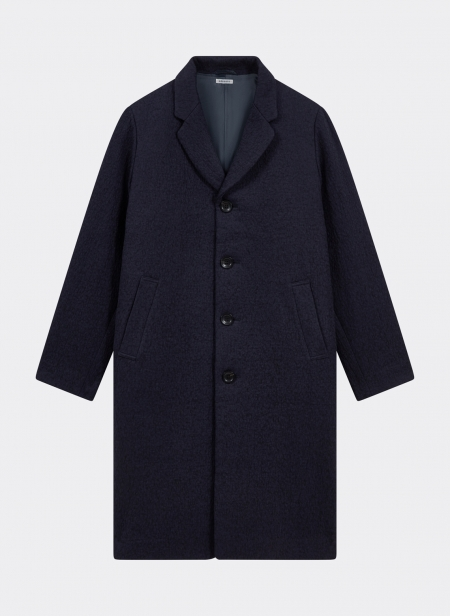 Kumo Gakaru Wool Oversized Single Coat