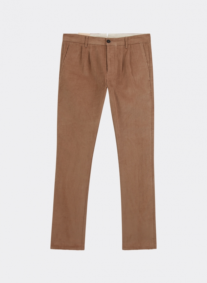 Pantalon à Pinces en Corduroy Fortela