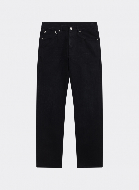 John 5 Pocket Black Selvedge Fortela