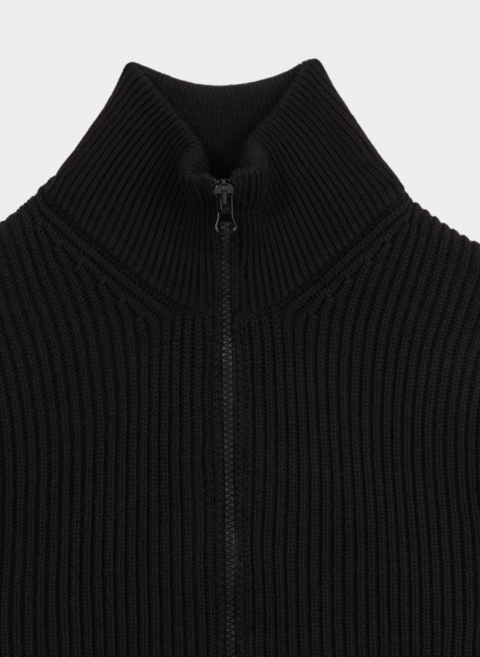 Cardigan Zip Maille Merinos CP COMPANY