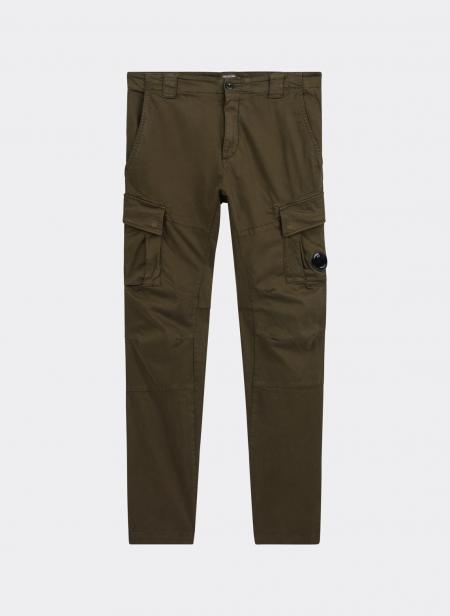 Pantalon Cargo En Gabardine cp company