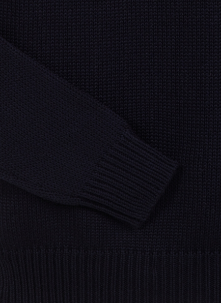 Crew Neck in Merino Wool Roberto Collina
