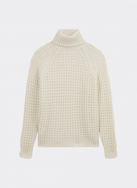 Oversized Jumper in Baby Alpaca Roberto Collina
