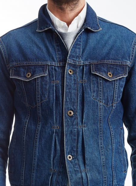 13.5oz 4th Type Denim Jacket Cote D'ivoire Selvedge