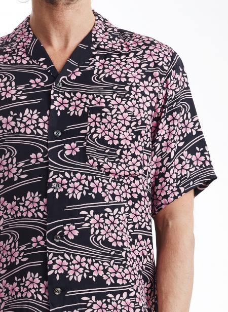 Yamazakura & Ryusui Ss Shirt Rayon