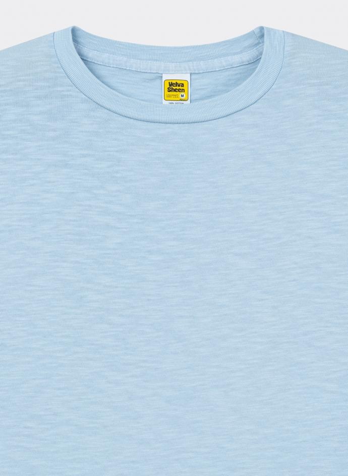 Rolled Regular Tee Shirt Velva Sheen