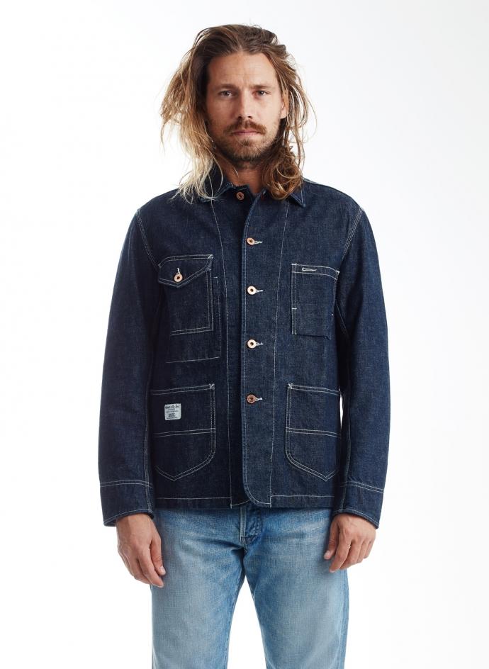 Aviatic Jacket Japanese Denim