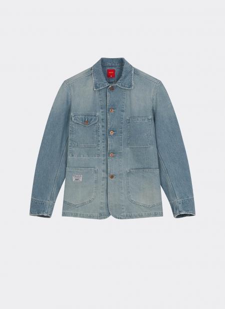 Aviatic Japanese Denim Jacket Bleach