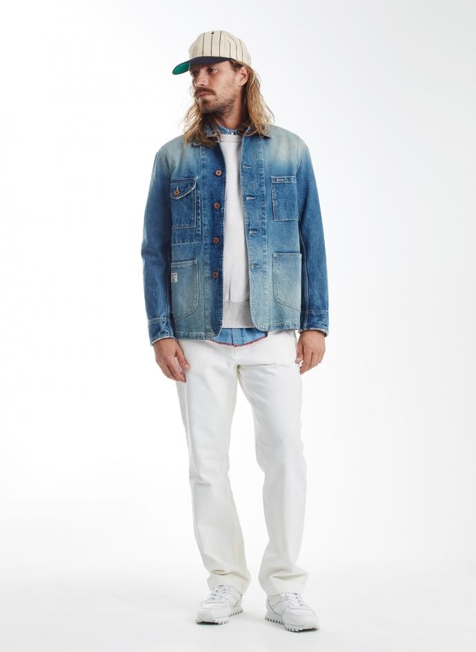 Aviatic Japanese Denim Jacket Washed