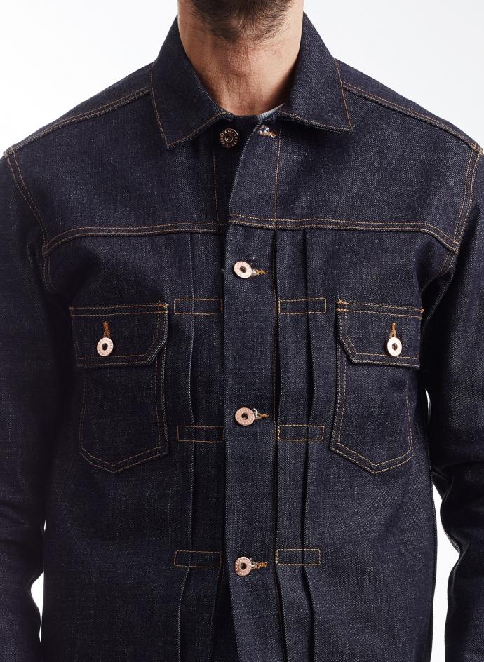 Aviatic Japanese Raw Denim Jacket