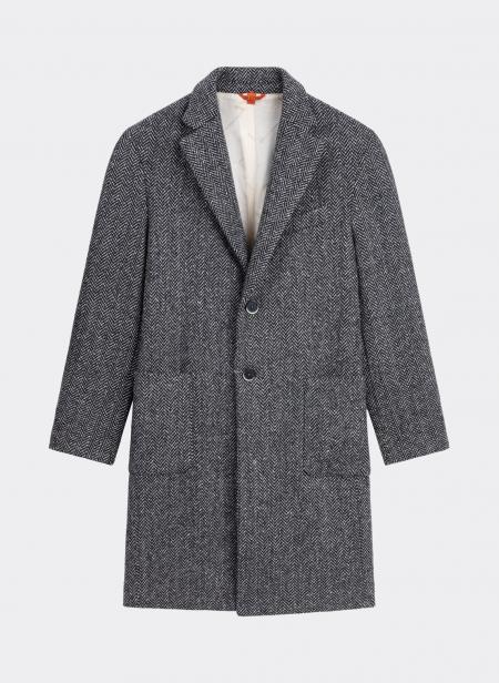 Barena Venezia Baron Coat Herringbone