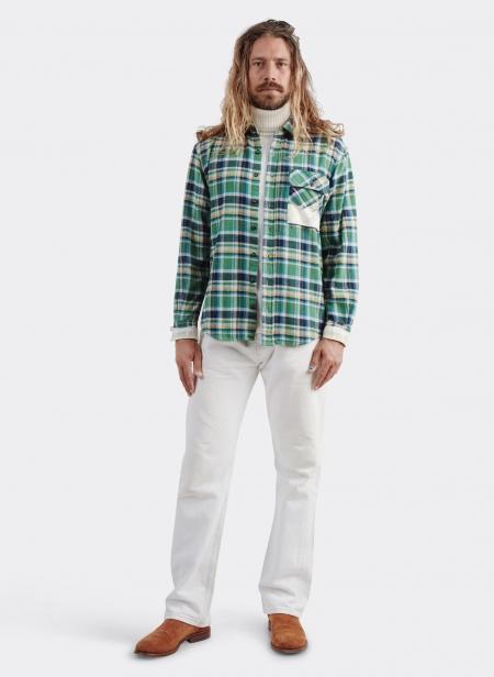 Kith Shirt P's Japan Check