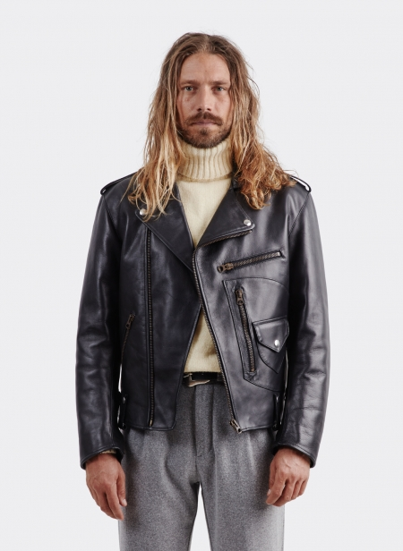 Fortela Chiodo Perfecto Leather Jacket