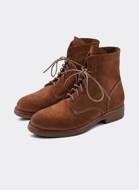 Buttero High top Suede Boots