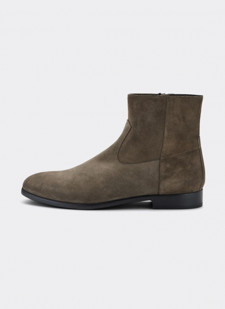 Buttero Floyd Suede Zip Up Boots
