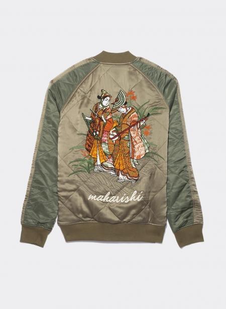 Reversible Hokkaido Jacket Silk Japanese Nylon Twill