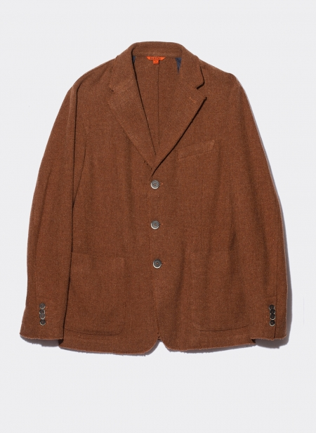 Jacket Cimosa Virgin Wool Ginger Chiné Barena Venezia