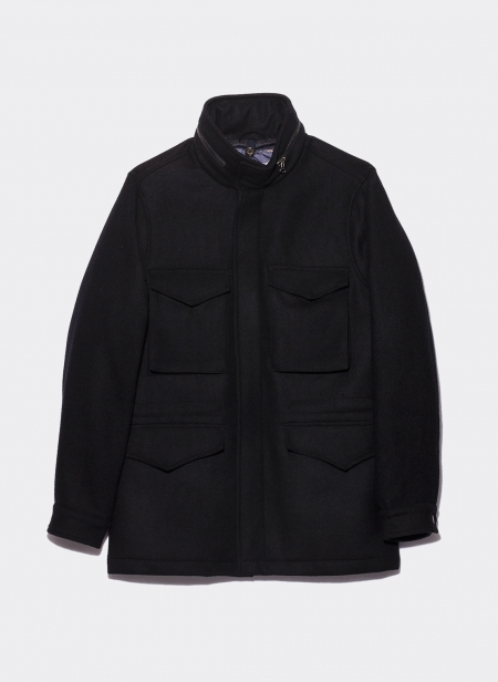 Field Jacket M65 Loro Piana Melton Wool