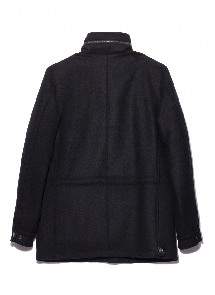 Field Jacket M65 Loro Piana Melton Wool