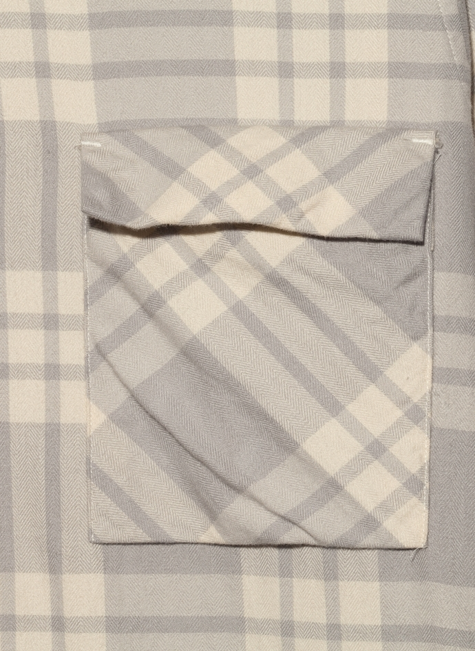Chemise Vespa Soft Flannel Check Washed