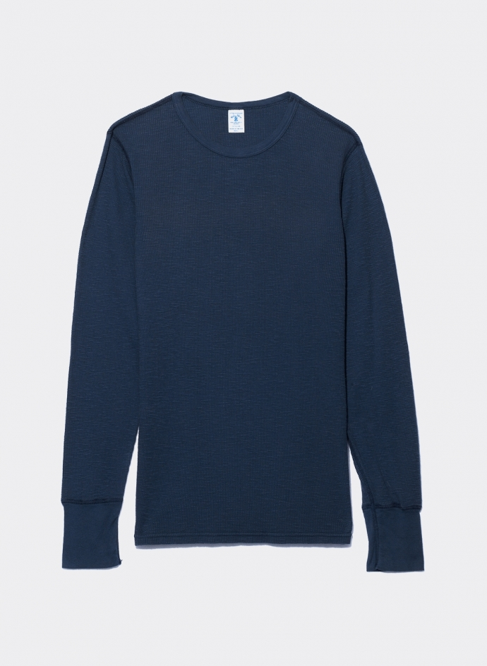 Thermal long sleeves tee shirt Velva Sheen