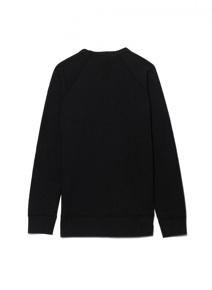 10oz Indigo Loopback Fleece Sweatshirt Velva Sheen