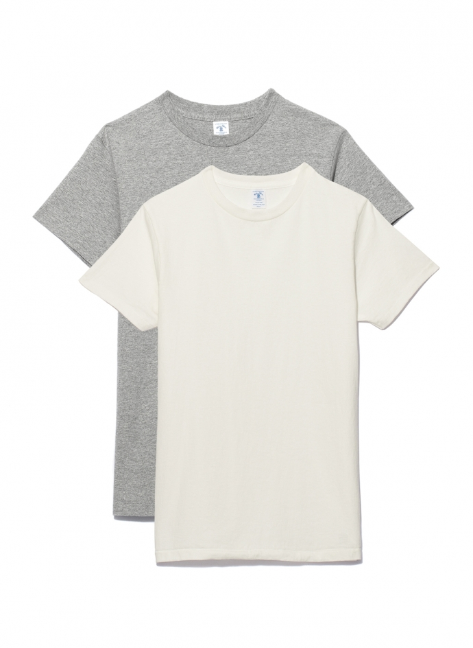 Pack 2 Tee Shirts Col Rond Velva Sheen