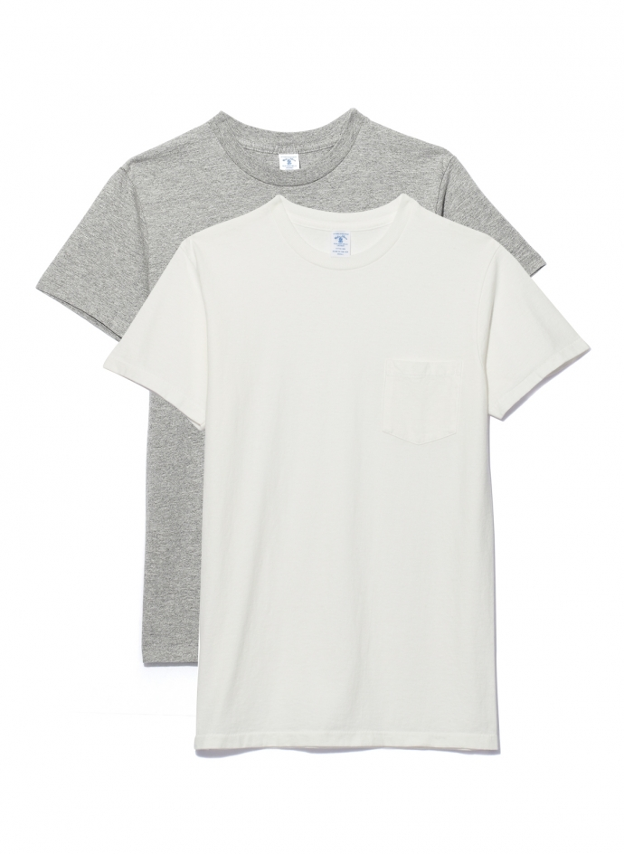 Pack 2 Tee Shirts Avec Poche Velva Sheen