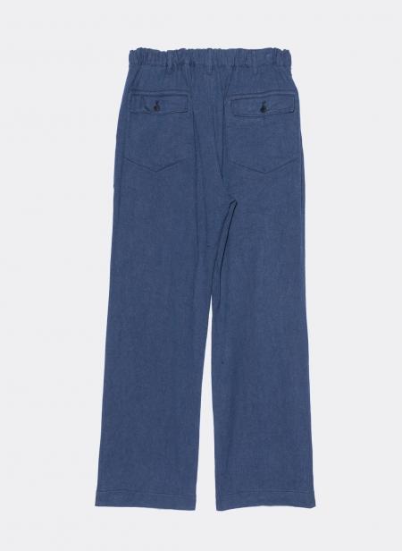 Pantalon Fatigue Lin Sage de Cret