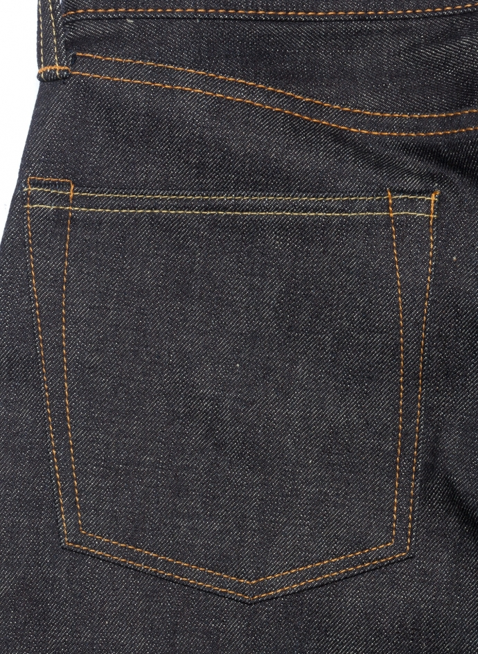 0306-V 15.7 Oz Tight Tapered Momotaro Jeans