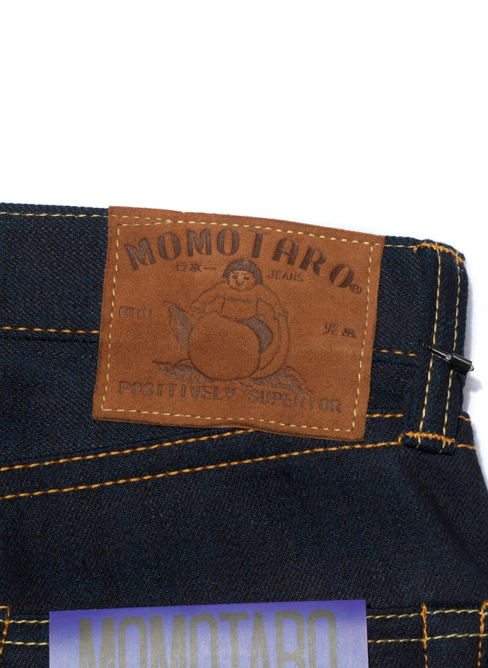 0306-14 13oz Double Face Tight Tapered Momotaro Jeans