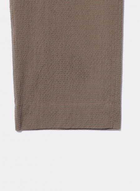 Pantalon ceinture élastique en Seersucker Kestin Hare