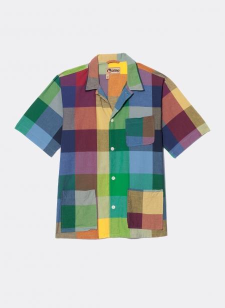 Frankie's Shirt Multi Check Nigel Cabourn Lybro