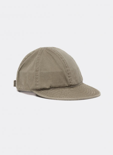 Mechanics Cap Mix Herringbone Poplin Nigel Cabourn Lybro