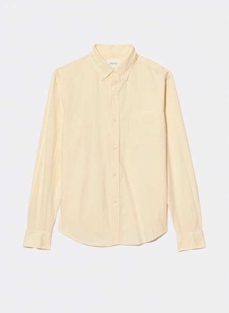 Button Down Officer Shirt Lightweight Oxford