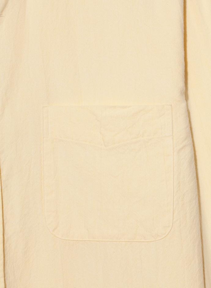 Button Down Officer Shirt Lightweight Oxford